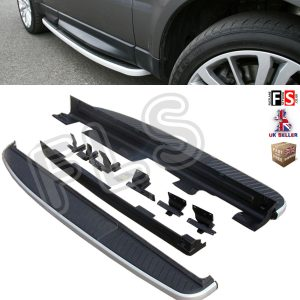 RANGE ROVER SPORT SIDE STEPS RUNNING BOARDS OEM STYLE & 100% FIT 05-13 MODELS