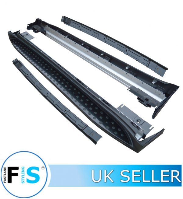 MERCEDES BENZ ML W164 LUXURY OEM STYLE RUNNING BOARDS SIDE STEPS