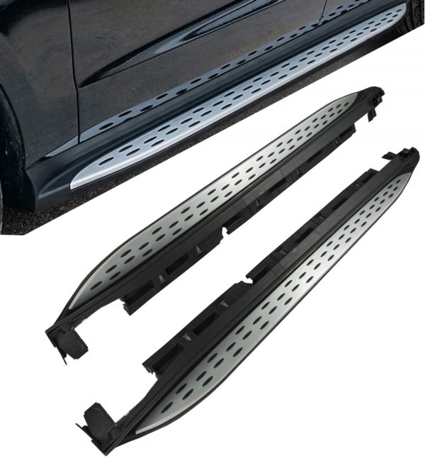 MERCEDES BENZ GL X166 RUNNING BOARDS SIDE STEPS OEM STYLE 100% FIT