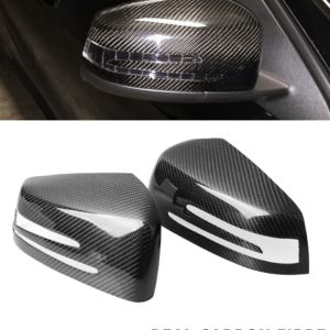 MERCEDES C CLASS W204 E CLASS W212 C207 REPLACEMENT MIRROR COVER CARBON FIBRE