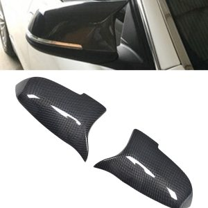 BMW 5 SERIES F10 LCI REPLACEMENT PERFORMANCE MIRROR COVERS REAL CARBON FIBRE 14+