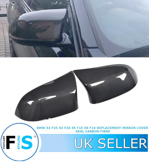 BMW X5 F15 M TYPE REPLACEMENT WING MIRROR COVER PAIR