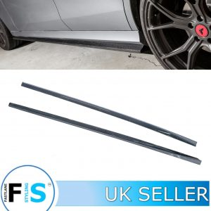 MERCEDES E CLASS W213 COUPE E63 AMG SIDE SKIRT BLADES