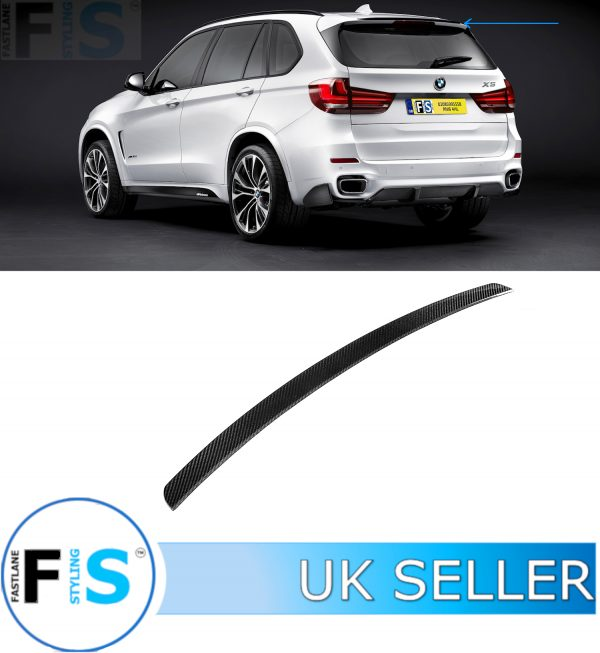 BMW X5 F15 M PERFORMANCE CARBON FIBRE REAR ROOF BOOT SPOILER