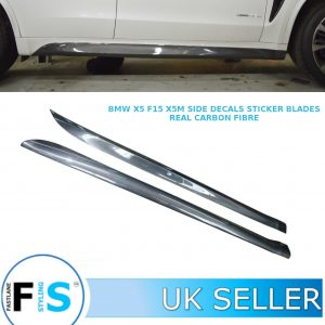 BMW X5 F15 X5M X6 F16 X6M SIDE SKIRT EXTENSION BLADES