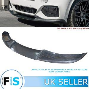 BMW X5 F15 X5M LOOK PERFORMANCE FRONT LIP SPLITTER
