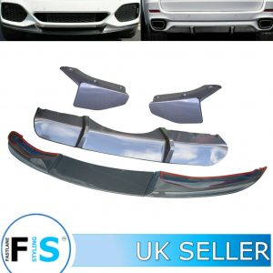 BMW X5 F15 M TYPE BUMPER REAR DIFFUSER FRONT SPLITTER LIP