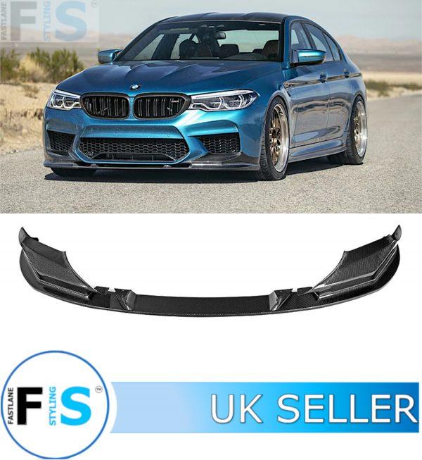 BMW 5 SERIES F90 M5 CARBON FIBRE FRONT LIP SPLITTER