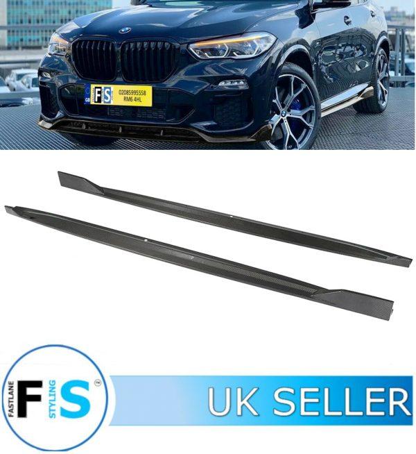 BMW X5 G05 M SPORT SIDE SKIRT EXTENSION BLADES
