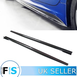 BMW 3 SERIES G20 G21 M SPORT CARBON FIBRE SIDE EXTENSION BLADES
