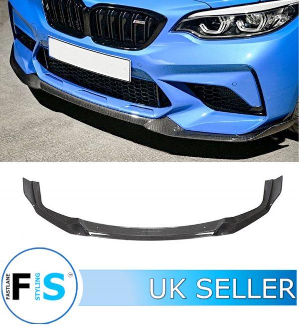 BMW 2 SERIES F87 M2 COMPETITION FRONT SPLITTER CARBON FIBRE