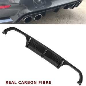 BMW 3 4 SERIES F80 F82 M3 M4 PERFORMANCE REAR DIFFUSER VALANCE CARBON FIBRE 15+
