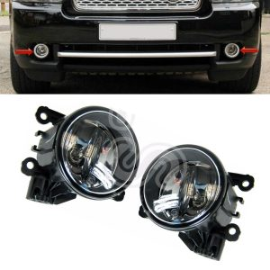 2 x RANGE ROVER SPORT FRONT BUMPER FOG LAMP LIGHT REPLACEMENT LIGHTS 10-13