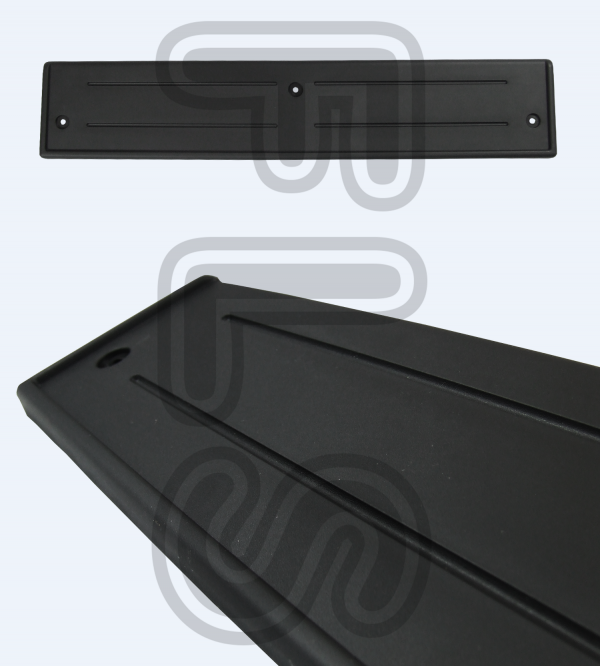 AUTOBIOGRAPHY LOOK FRONT BUMPER NUMBER PLATE PLINTH FOR RANGE ROVER SPORT 10-13