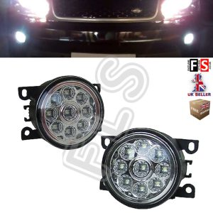 RANGE ROVER SPORT FRONT BUMPER REPLACEMENT LED FOG LAMP LIGHT PAIR 10-13