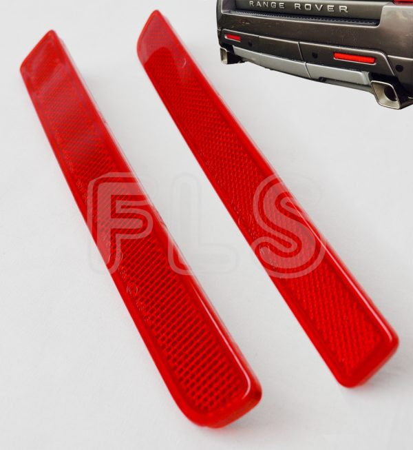 REAR BACK BUMPER REFLECTORS FOR LAND ROVER DISCOVERY 3&4 RANGE ROVER SPORT L320