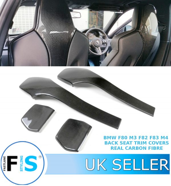BMW F80 M3 F82 F83 M4 REAR SEAT TRIM COVERS