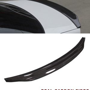AUDI A4 B8 REAR TRUNK BOOT SPOILER CARACTERE TYPE REAL CARBON FIBRE 07-18
