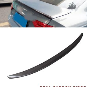 AUDI A5 2D COUPE REAR TRUNK BOOT SPOILER S5 STYLE REAL CARBON FIBRE 2011-2016