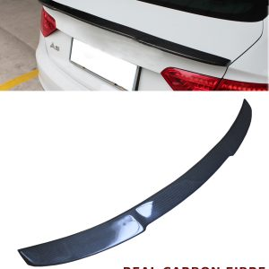 AUDI A5 2D COUPE REAR TRUNK BOOT SPOILER V STYLE REAL CARBON FIBRE 2011-2016