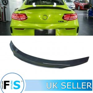 MERCEDES C CLASS C205 AMG BOOT SPOILER PSM STYLE