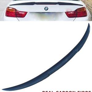 BMW 3 SERIES E93 CONVERTIBLE V STYLE REAR TRUNK BOOT SPOILER REAL CARBON FIBRE