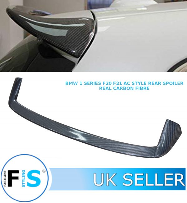 BMW 1 SERIES F20 F21 HATCHBACK REAR BOOT WING SPOILER LIP AC STYLE