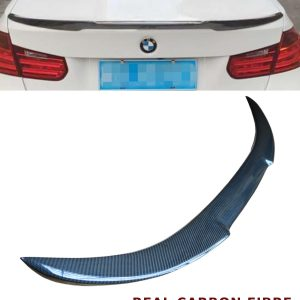 BMW 3 SERIES F30 V STYLE REAR TRUNK BOOT SPOILER REAL CARBON FIBRE 2013-2017