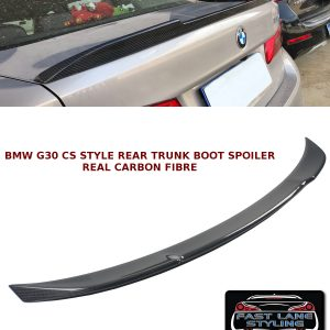 BMW 5 SERIES G30 CS STYLE REAR TRUNK BOOT LIP SPOILER CARBON FIBRE 2017+