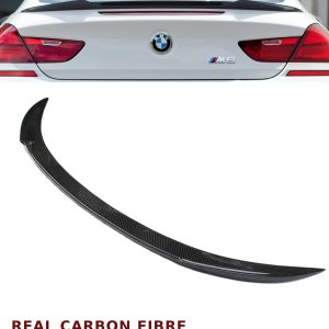 BMW 6 SERIES F12 F13 M6 V STYLE REAR TRUNK BOOT SPOILER REAL CARBON FIBRE 12-16