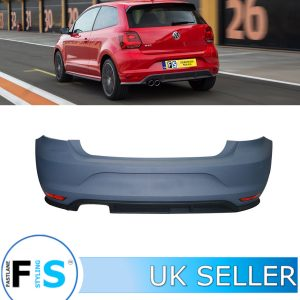 VW POLO MK5 2015+ GTI LOOK REAR BUMPER