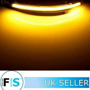 AUDI Q7 Q5 LED SMOKED DYNAMIC BLINKER SIDE MIRROR TURN SIGNAL LIGHTS