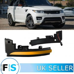 LAND ROVER DYNAMIC SWEEPING MIRROR INDICATOR LIGHTS