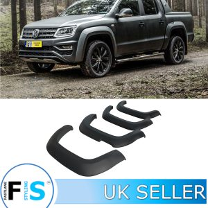 VW AMAROK MATTE BLACK WIDE BODY WHEEL ARCH 2018+