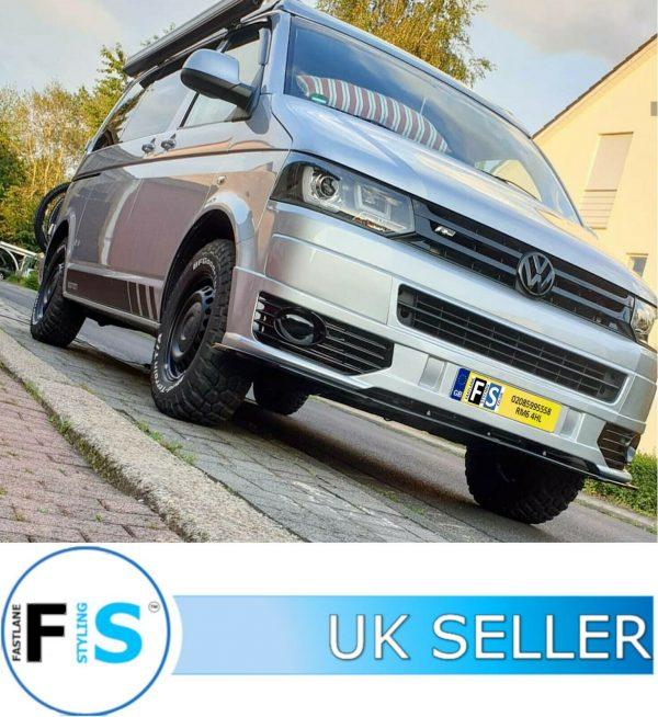 VW T5 TRANSPORTER SPORTLINE FRONT SPOILER SPLITTER