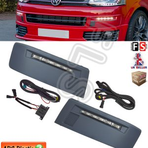 VW VOLKSWAGEN TRANSPORTER T5 2010 DRL KIT DAYTIME RUNNING LIGHTS UPGRADE LED VAN