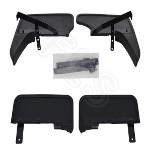 VW T5 CARAVELLE MULTIVAN TRANSPORTER MUDGUARDS SET SLASH GUARDS MUDFLAPS VWT5MUD