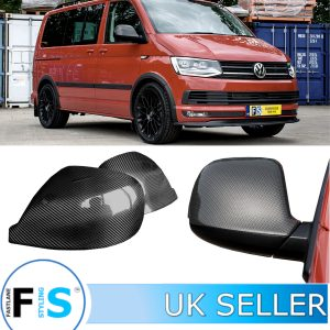 VW TRANSPORTER T6 SIDE WING MIRROR COVERS PROTECTOR