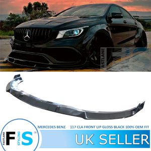 MERCEDES CLA C117 AMG LOOK FRONT LIP SPLITTER