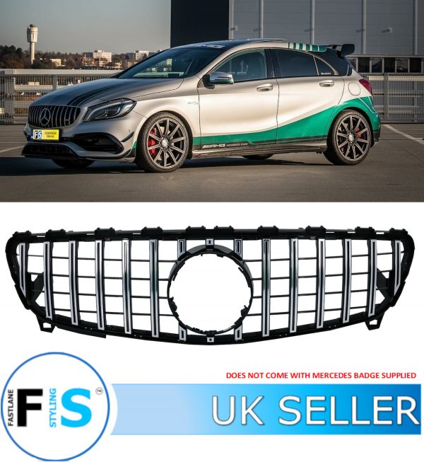 MERCEDES A-CLASS W176 PANAMERICANA GT STYLE GRILLE