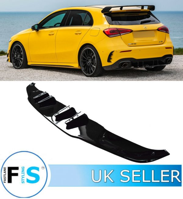 MERCEDES A CLASS W177 REAR DIFFUSER & TAILPIPES A35 AMG LOOK