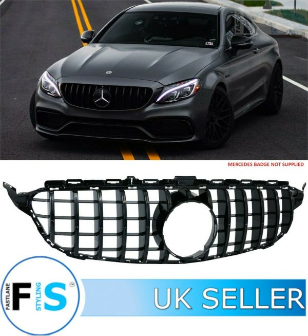 MERCEDES C CLASS A205 C205 S205 W205 AMG GT GRILLE