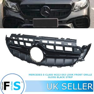 MERCEDES E-CLASS W213 S213 C238 A238 E63 AMG LOOK FRONT GRILLE