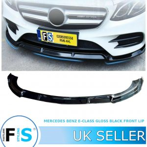 MERCEDES BENZ E CLASS A238 C238 W213 AMG FRONT SPLITTER LIP