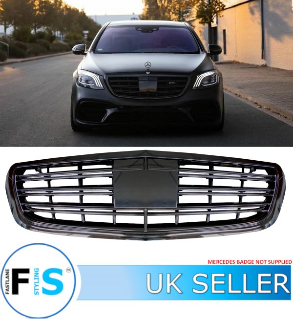 MERCEDES S CLASS AMG W222 FRONT GRILLE