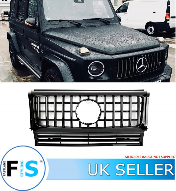 MERCEDES G WAGON G CLASS AMG PANAMERICANA GT STYLE GRILLE