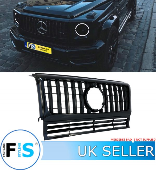 MERCEDES G CLASS G WAGON AMG PANAMERICANA GT STYLE GRILLE
