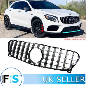 MERCEDES GLA CLASS X156 AMG PANAMERICANA GT STYLE GRILLE