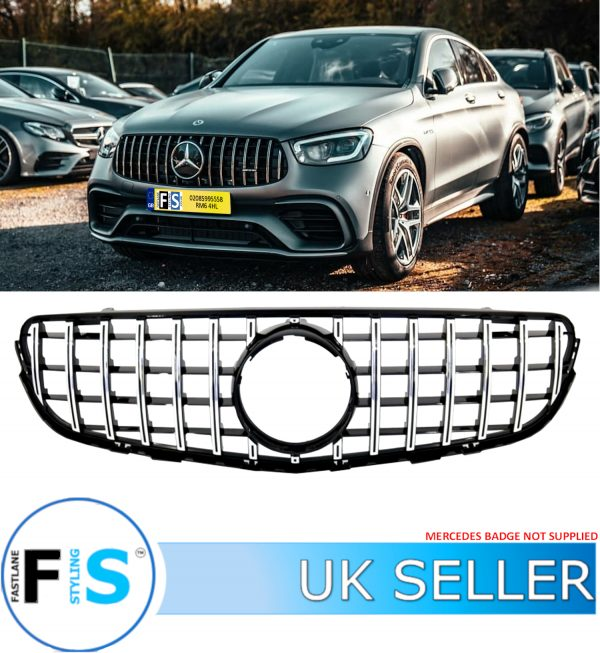 MERCEDES GLC X253 C253 COUPE PANAMERICANA GT GRILLE