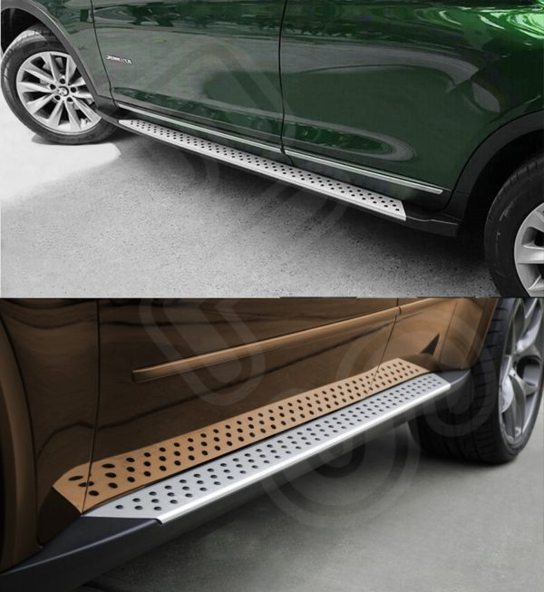 BMW X3 2010 UP SIDE STEPS BARS F25 RUNNING BOARDS OEM FACTORY STYLE